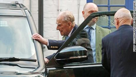 Prince Philip leaves hospital after four-night stay for undisclosed condition