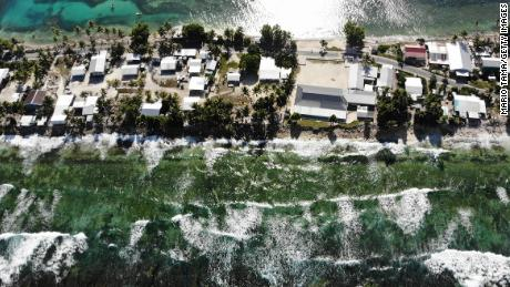 The low-lying South Pacific island nation of Tuvalu has been classified as 'extremely vulnerable' to climate change by the United Nations Development Programme.