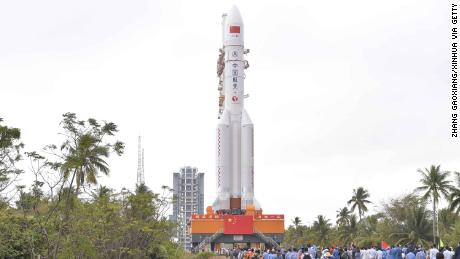 China rocket successfully makes orbit in space station bid