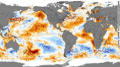 Hot blob off NZ coast; US-Australia both facing extreme climate conditions