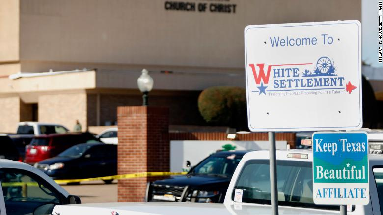 Authorities: Gunman in Texas church shooting had ties to New Jersey