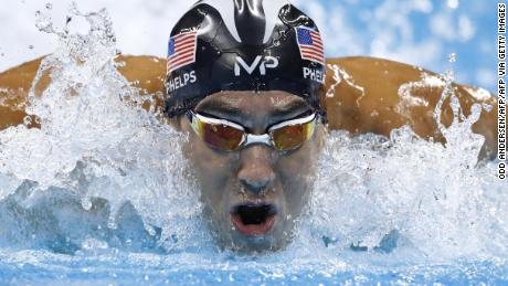 Michael Phelps clinched a total of 28 Olympic medals.