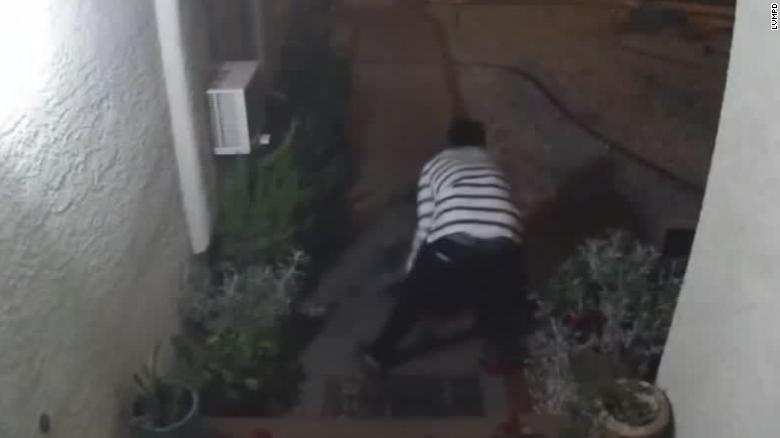 Doorbell camera captures woman being beaten, possibly abducted