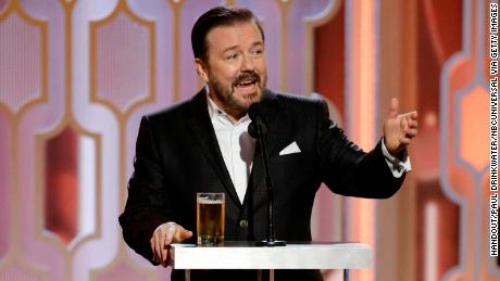 Ricky Gervais explains the real target of his Globes jokes