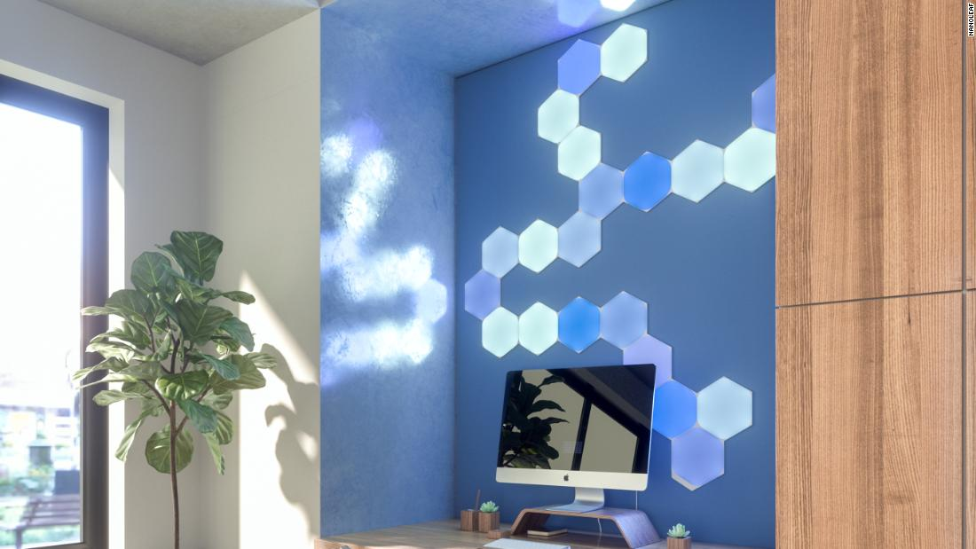 Nanoleaf is adding new light panel shapes and smarter accessories to its lineup