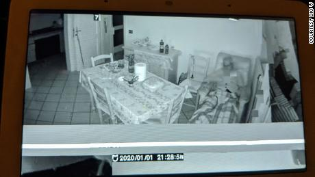 A photo posted to Reddit taken from a Xiaomi camera streamed to a Google Nest Hub.