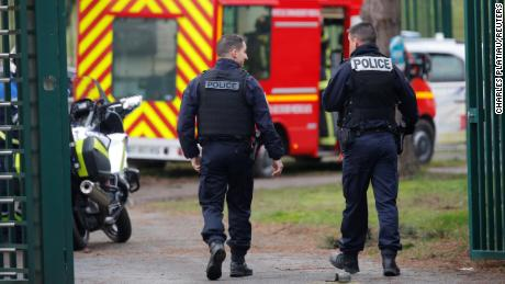 Paris knife rampage treated as terrorism