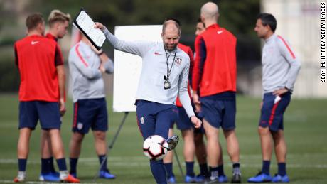 USA Soccer cancels plans for men's team to train in Doha