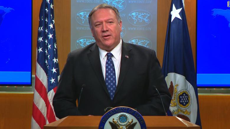 Pompeo loses temper, curses at journalist over Ukraine questions