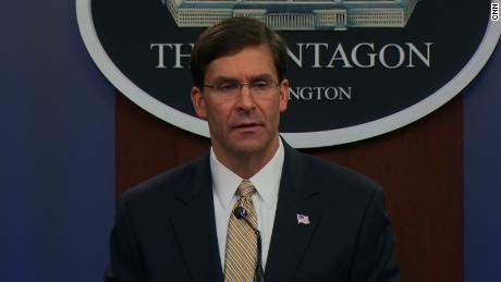 Esper says military 'can't meet everybody's needs' as coronavirus outbreak escalates