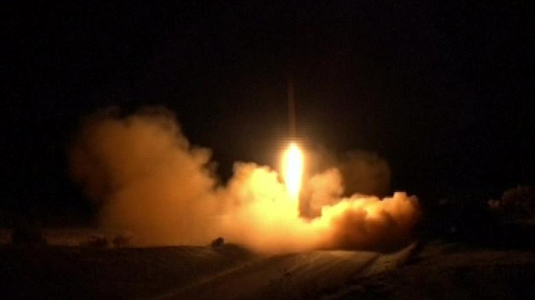 U.S. military had advance warning of Iranian ballistic missile attack, officials say