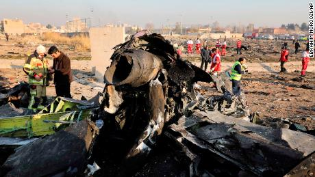 Victims of Iran plane crash hailed from around the world