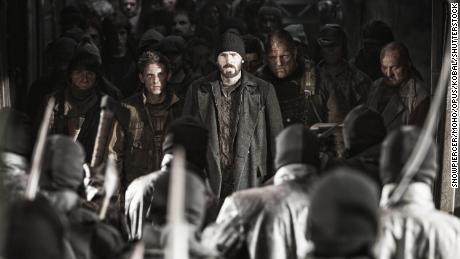 """Jamie Bell in addition to also Chris Evans in """"Snowpiercer,"""" Bong's post-apocalyptic film coming from 2013 in which humanity survives on an ever-moving train using a rigid class system separated by carriages."""