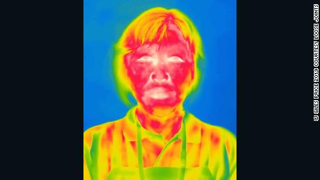 Unsettling thermal portraits show Fukushima residents returning home