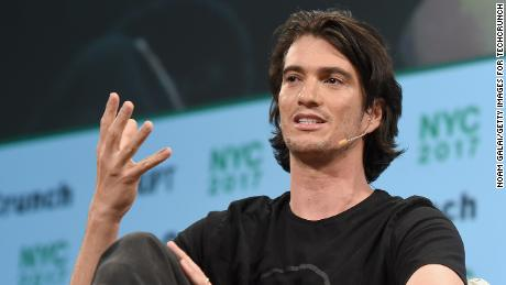 Former WeWork CEO in talks to get nearly $  500 million in SoftBank settlement
