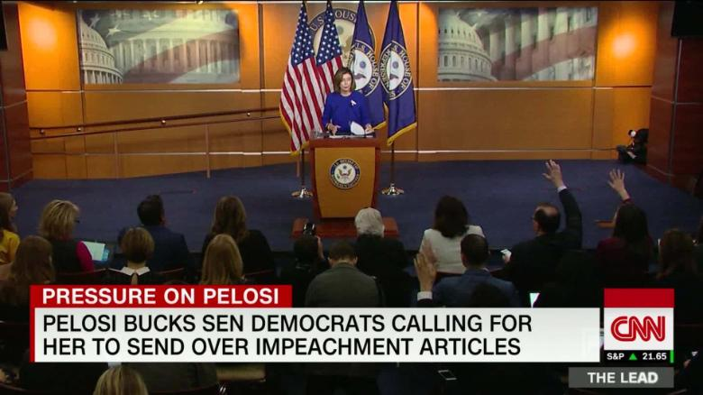 House chooses Wednesday to send impeachment articles to the Senate