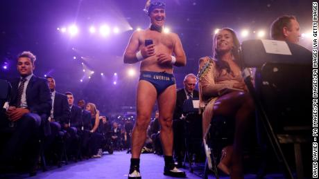 Not even warnings from the BBC could stop Cullen putting his own unique spin on the black tie dress code at the TV station's Sports Personality of the Year 2017 ceremony.