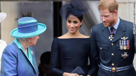 Palace updates the guide after new titles have made it appear that Meghan has divorced