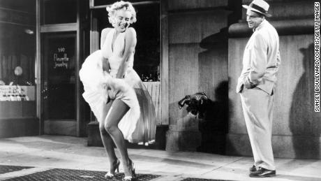 Remember when Marilyn Monroe's white cocktail dress made movie history?
