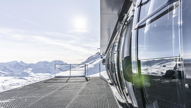 Chamonix France Ski Jump Wall Decal