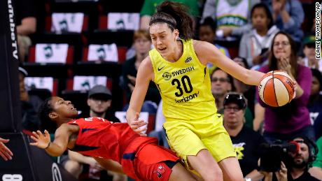 Stars such as the Seattle Storm's Breanna Stewart stand to see healthy raises under the CBA.