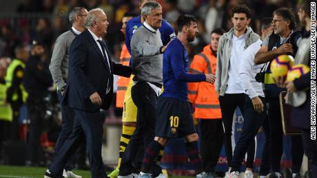 Qui est le nouveau patron de Barcelone Quique Setien? Le fanatique d'échecs «amoureux» de Lionel Messi