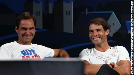 Nadal says his rivarly with Federer has helped him become a better player.