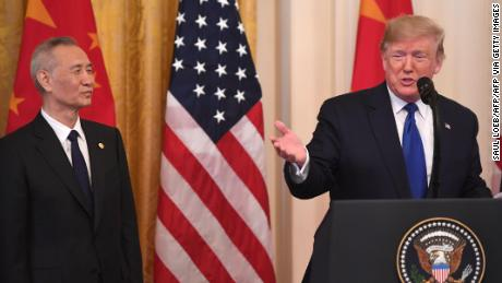 READ: Trump signs first phase of trade deal with China