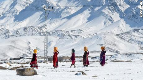 The avalanches were triggered by heavy snowfall in Pakistan-administered Kashmir in the Neelum Valley.