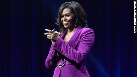 Michelle Obama Shares Workout Playlist: Lizzo, Cardi B, Beyonce