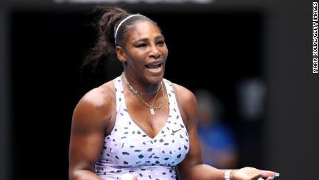 """Serena Williams a interrogé Meghan Markle, journaliste de crédits avec """"bon essai"""""""
