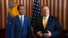 Pompeo meets with Venezuelan opposition leader in Colombia