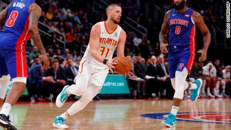 Law firm says Hawks' Chandler Parsons injured by drunk driver