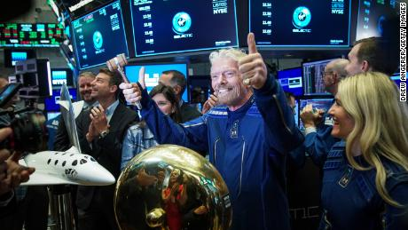 Space tourism venture Virgin Galactic could represent the future of Richard Branson's business empire.