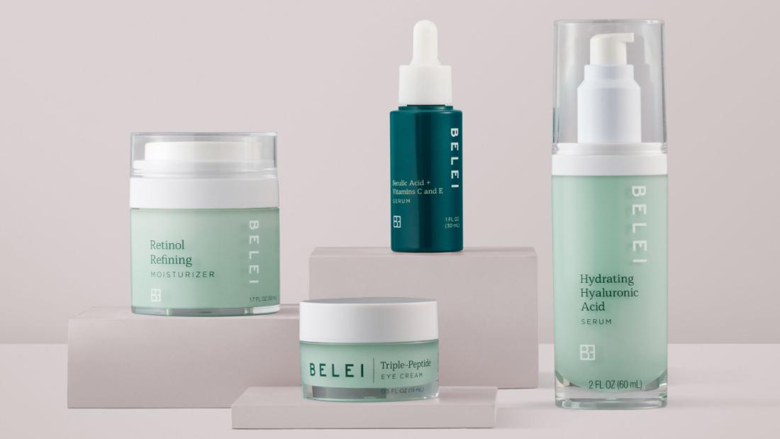 Amazon is taking up to 20% off its Belei skin care line