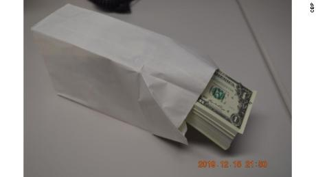 Customs police seized $900,000 in counterfeit money from a shipping container -- all in $1 bills