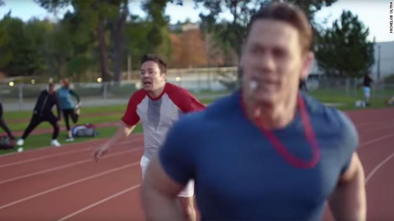 John Cena featured in new Super Bowl commercial with Jimmy Fallon