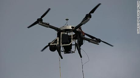 Tiwari says one drone can provide internet over a 20 to 30-mile radius.