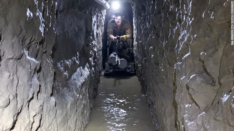 2000-foot drug smuggling tunnel discovered beneath US-Mexico border