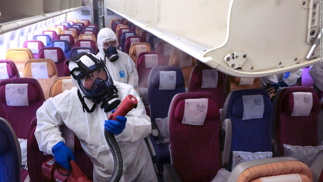 What Airlines Are Doing To Prevent The Spread Of Coronavirus Cnn Travel