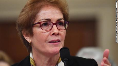 Ousted Ambassador to Ukraine Marie Yovanovitch to Receive Georgetown University Diplomacy Award