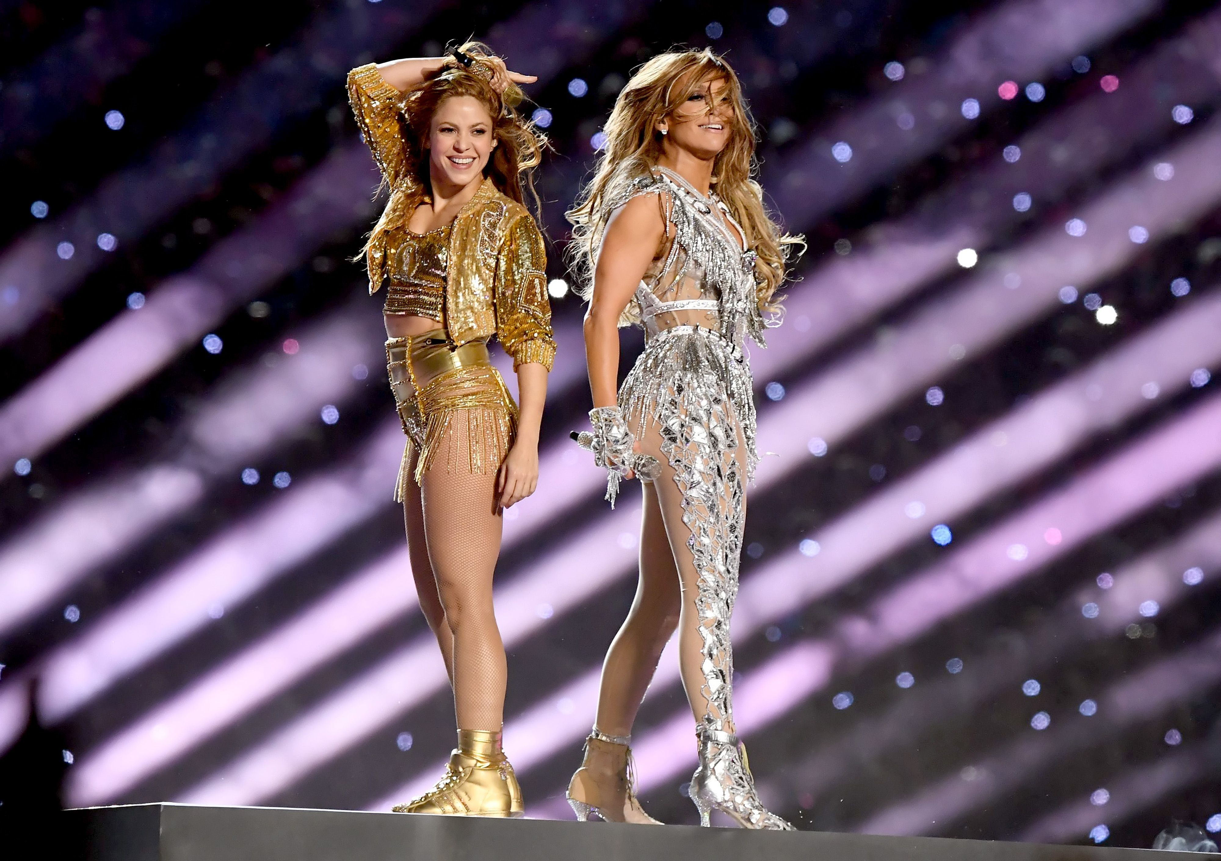 Super Bowl Best Fashion Of Halftime Shows Cnn Style