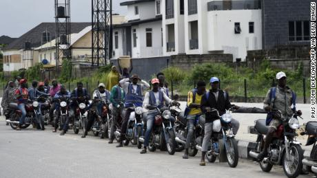 Nigeria's commercial hub bans motorcycle taxis, leaving commuters stranded