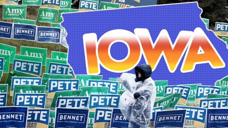 Pete Buttigieg signals Iowa caucus 'victory' despite lack of results
