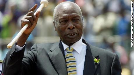 Kenya's longest serving President Daniel Arap Moi dies at 95