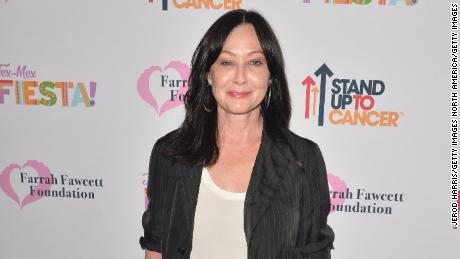 Shannen Doherty gives update on her breast cancer battle
