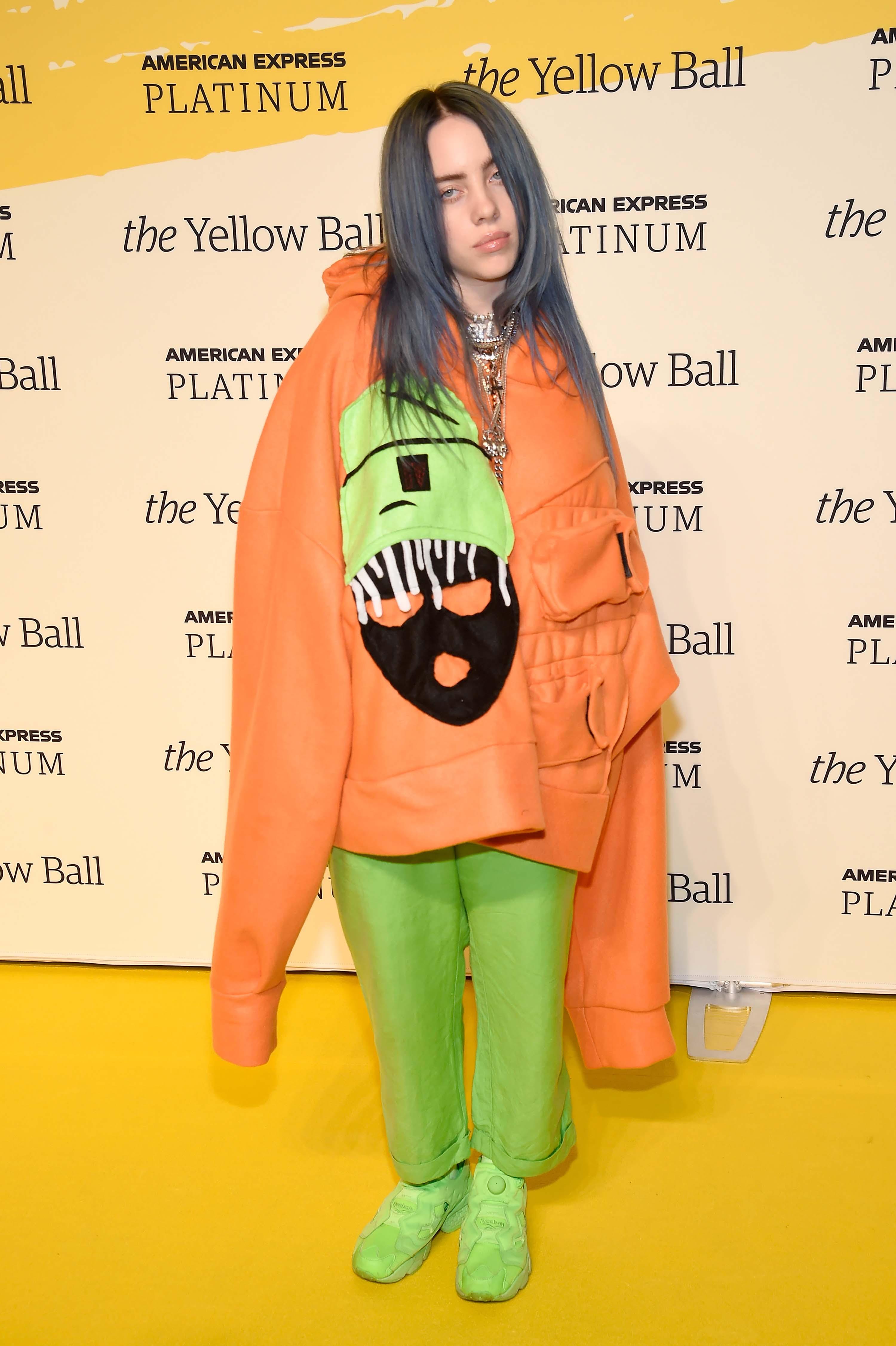 Billie Eilish Upends Fashion Convention With Singular Striking