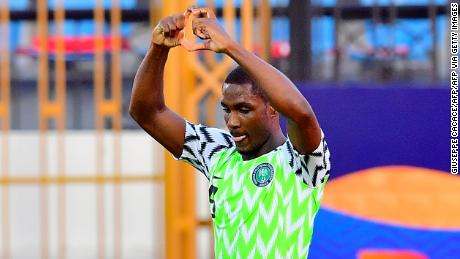 """Ighalo says it has always been his """"dream"""" to play for Manchester United."""