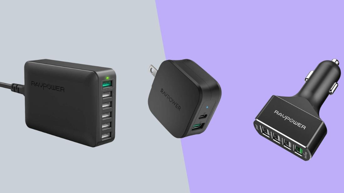 Keep your devices charged with these deals on RAVPower accessories