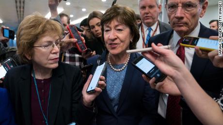 Republican Sen. Susan Collins of Maine